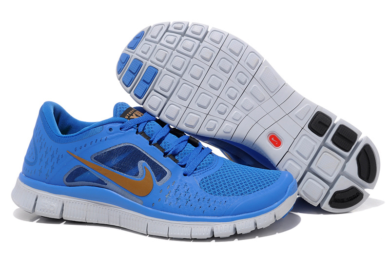 free shipping a5c53 58f32 Nike Free Run +3 Homme femme 2016 V4 Homme Chaussures Noir Royal Nike Free  Run