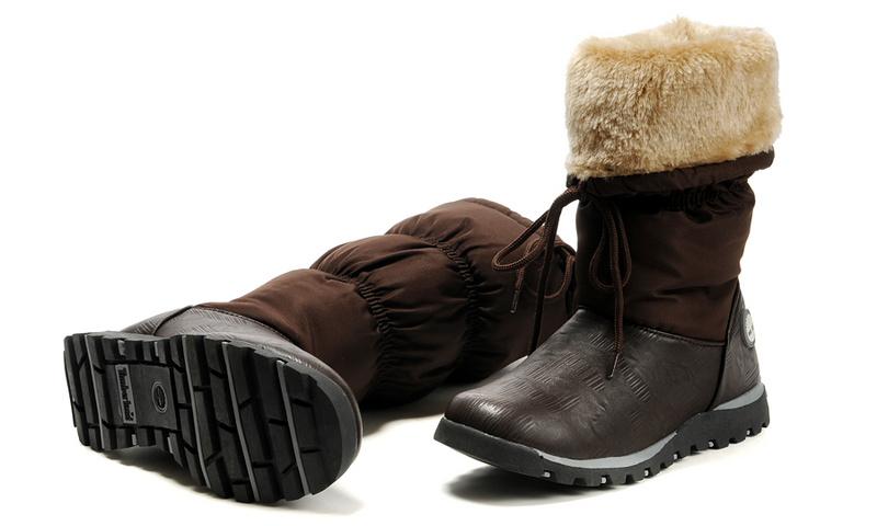 botte timberland femme neige
