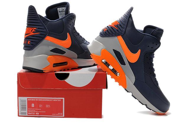 site réputé 17c8f 57f56 Nike Air Max 90 High Homme Chaussures Air Max personnalisées ...