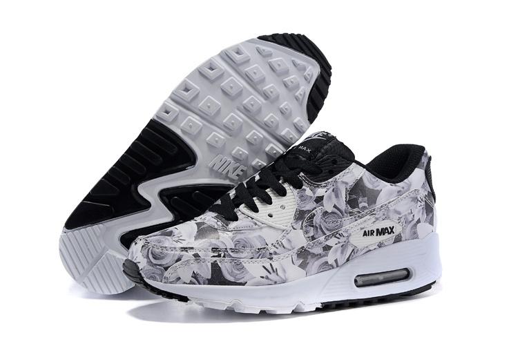 nike air max lunar 90 2015 noir - blanc original