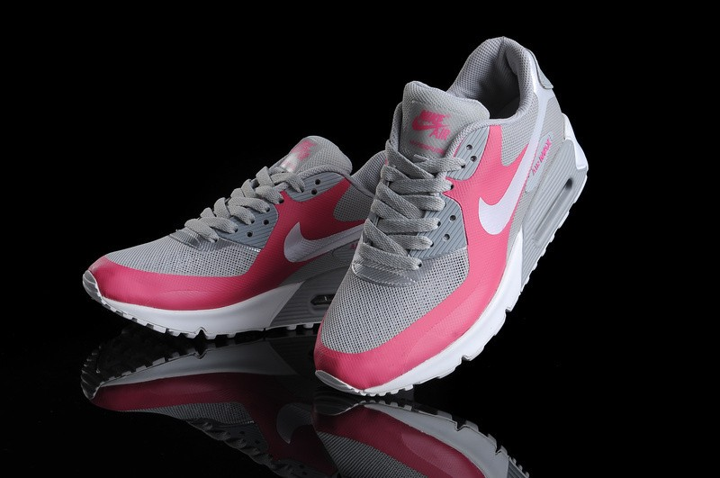 nike air max 90 hyperfuse femme rose chaussure running